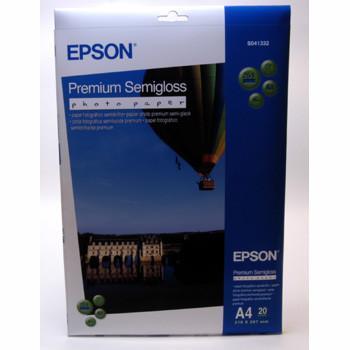 Epson - A4 251 gram Premium Semigloss photo Papir 20 ark