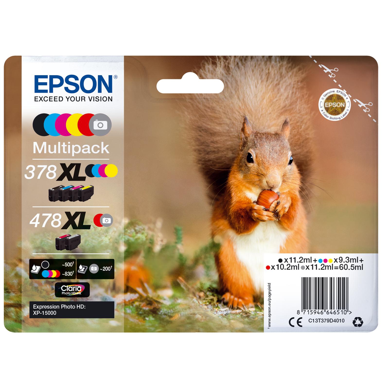 Epson T478 Multipack 6-colours XL