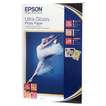 Epson fotopapir - Ultra Gloss 10x15 cm - 20 ark