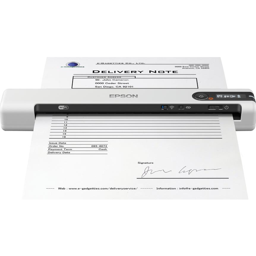 Epson WorkForce DS-80W scanner