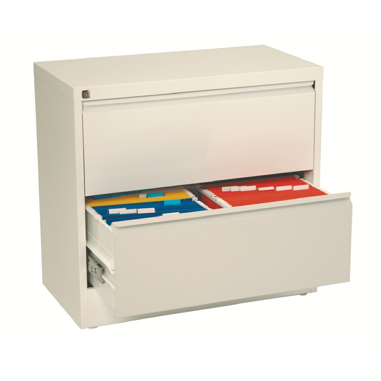 Esselte Filing cabinet Lateral A4 2 Drawer white