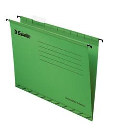 Hængemapper - A4 grøn