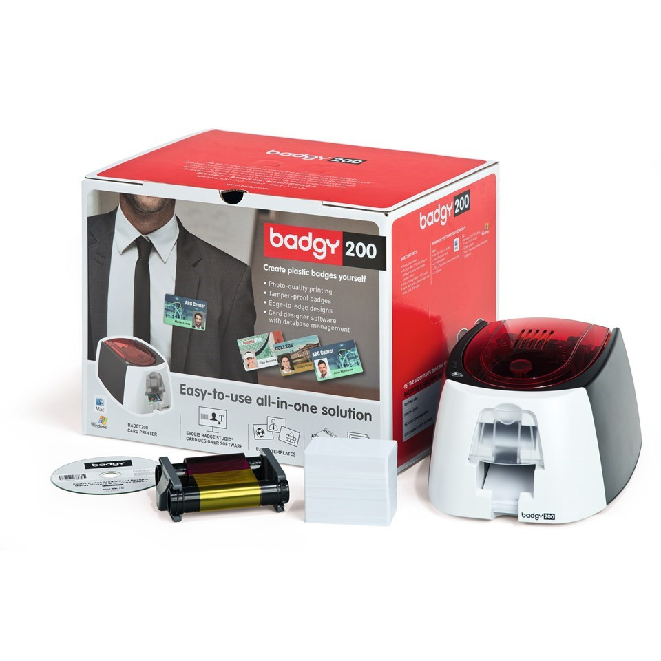 Badgy 200 plastkortprinter