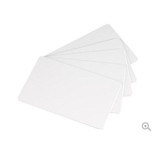 Evolis Badgy blank white thick cards (100)