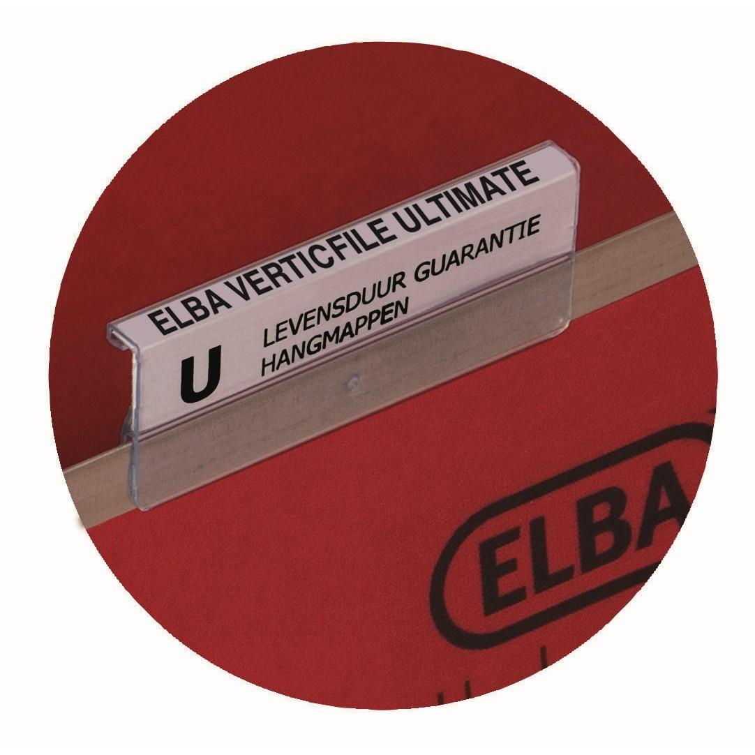 Fane Elba Vertic transparent 65mm 25st/pkt