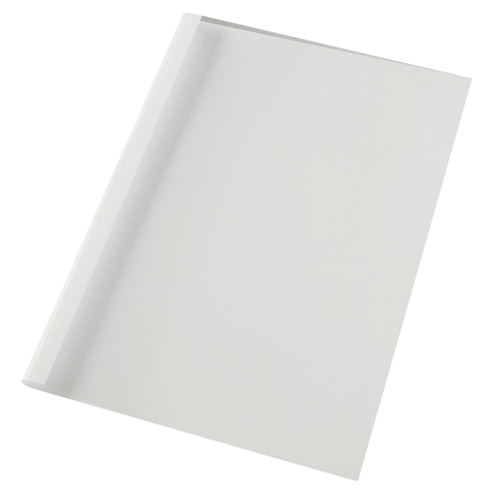 GBC Limindbindingsomslag A4 6mm white (100)