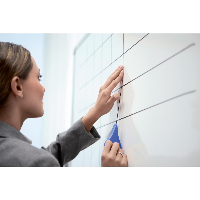 Tape til whiteboard sort 1,5 mm Nobo - 10 meter