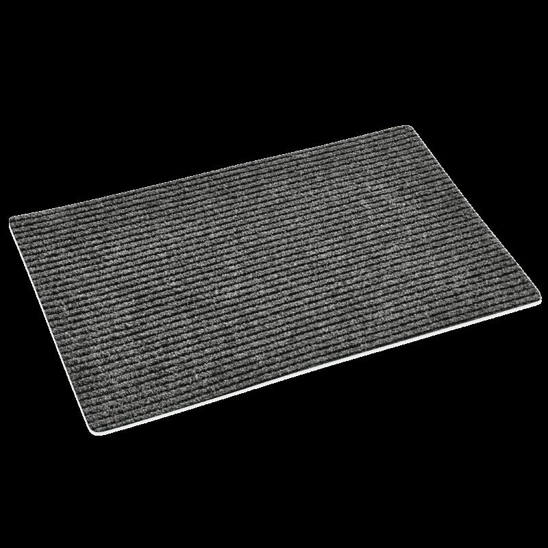 Grå Dørmåtte sugende - 50 x 80 cm