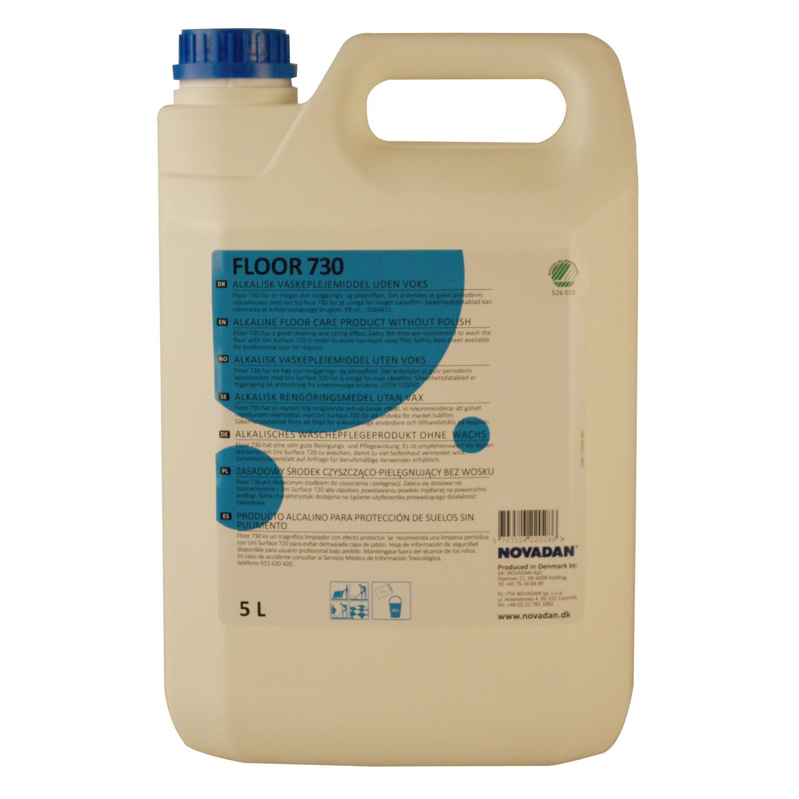 Novadan Floor 730 Gulvpleje - 5 liter