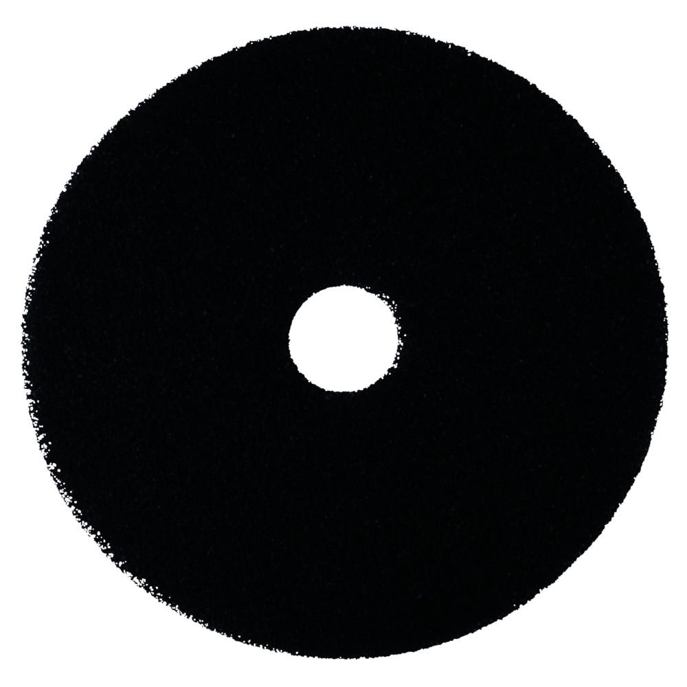 Gulvrondel, 3M, sort, huldiameter 85 mm, 14 tommer
