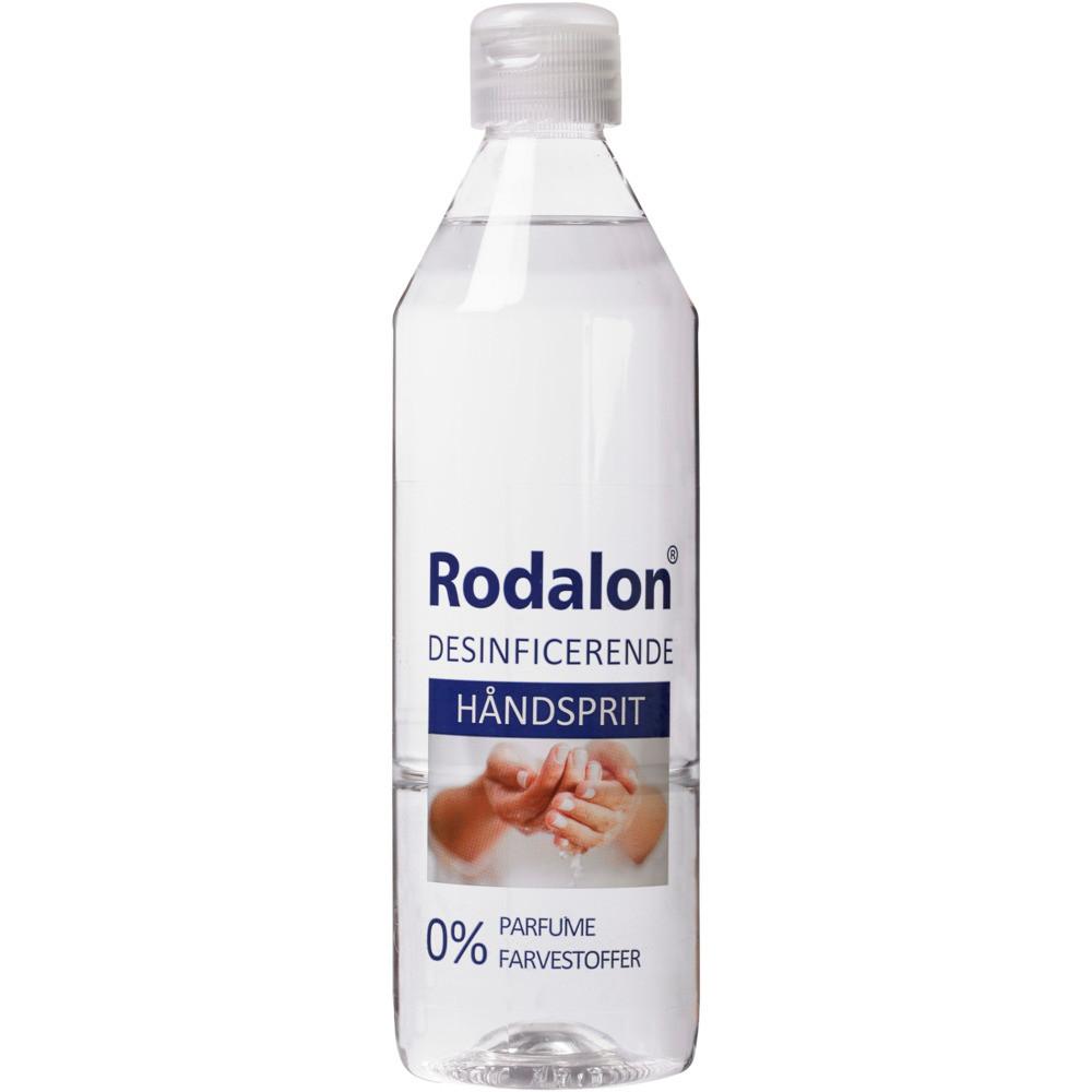 Hånddesinfektion, Rodalon, 500 ml, 70% ethanol