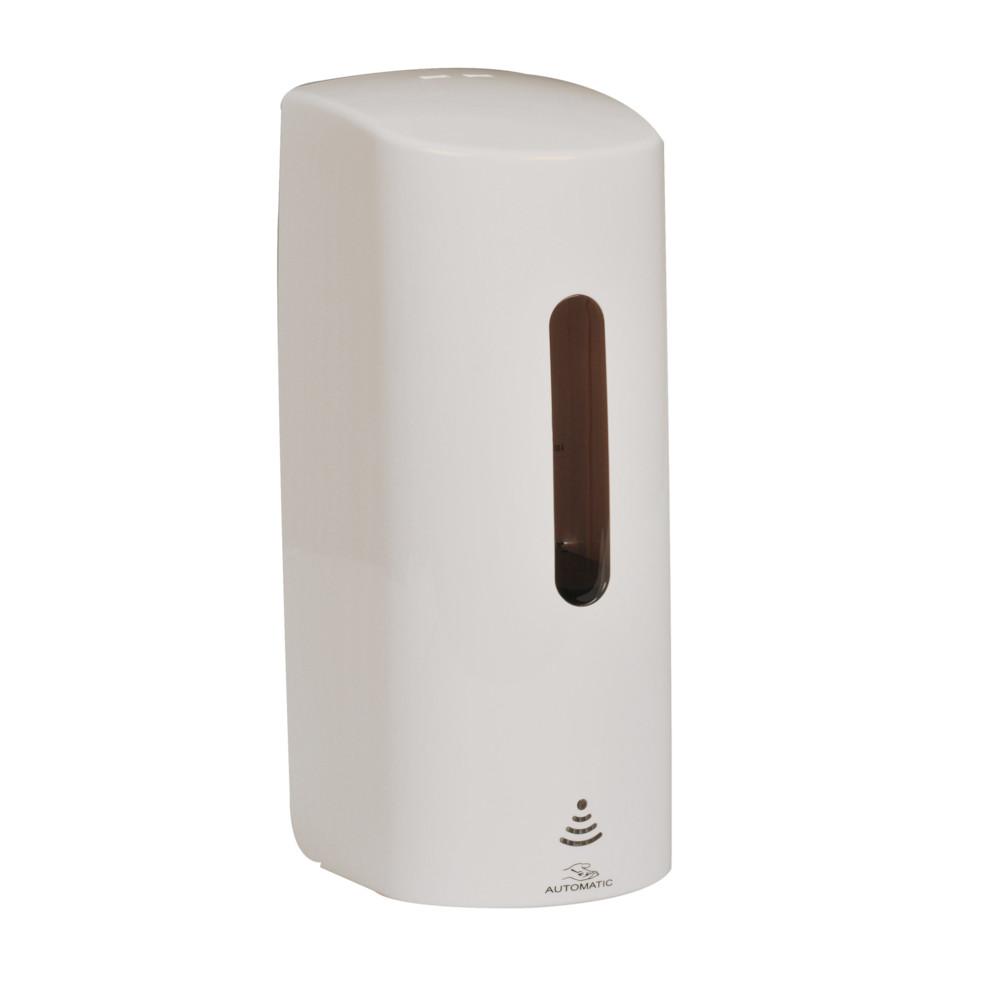 Håndfri dispenser, Abena, til bag-in-box refil, 700 ml, bruger 4 stk. AA batterier
