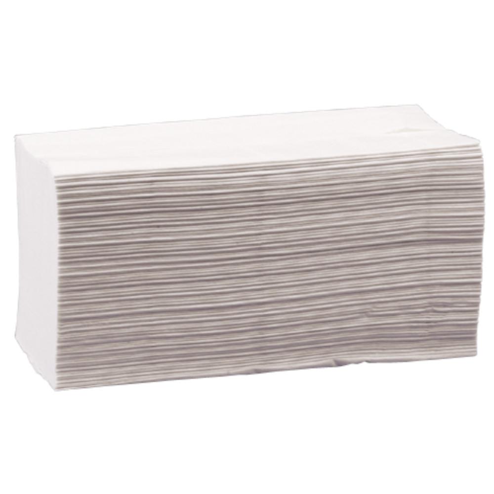 Håndklædeark Care-Ness Excellent 3-lags hvid Bredde 22 cm | Længde 32 x 10,5 cm