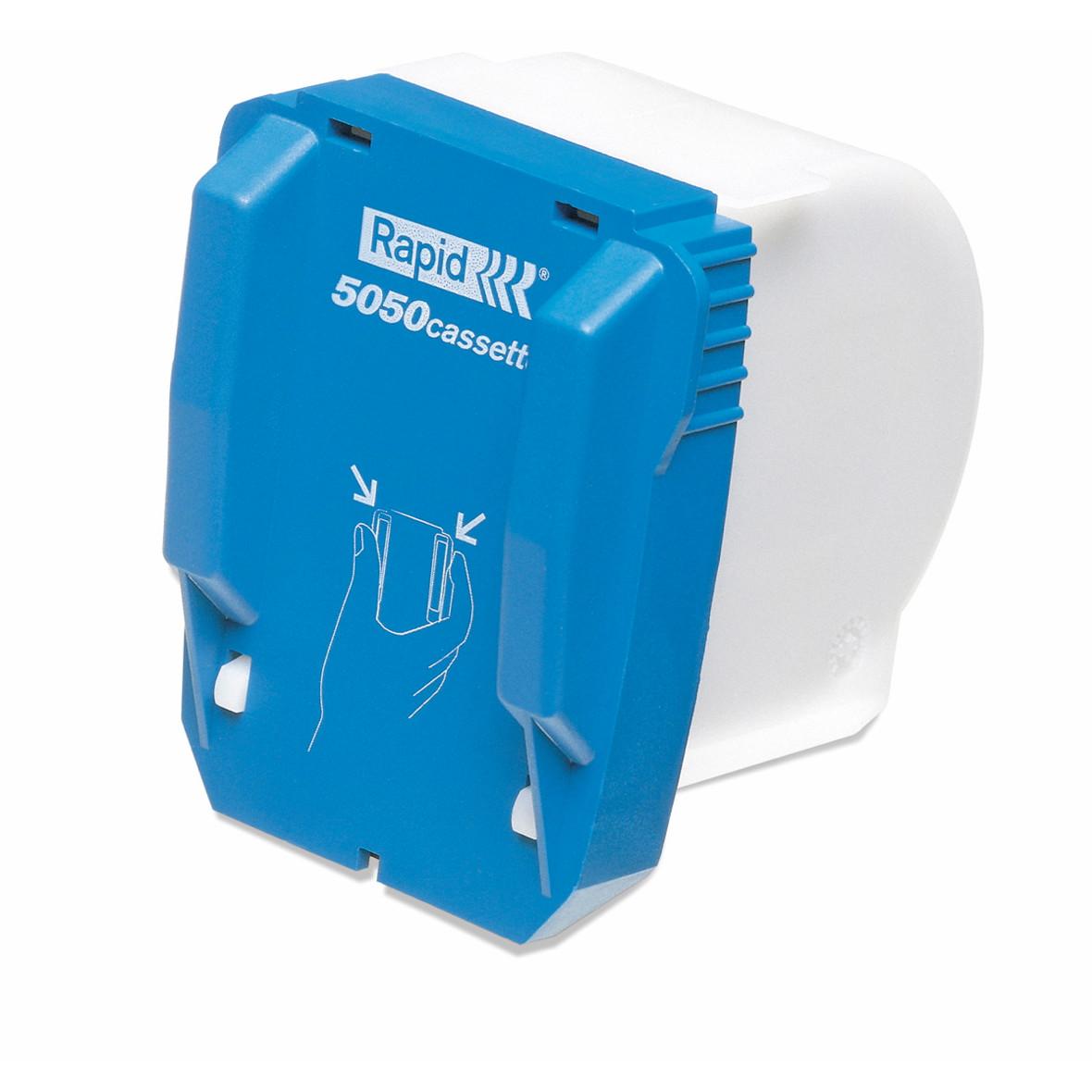 Hæfteklammekassette Rapid 5050 - 5000 stk i æsken