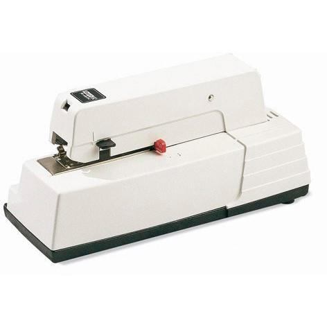 Hæftemaskine -  i Hvid El Rapid 90EC til klammer 66/6