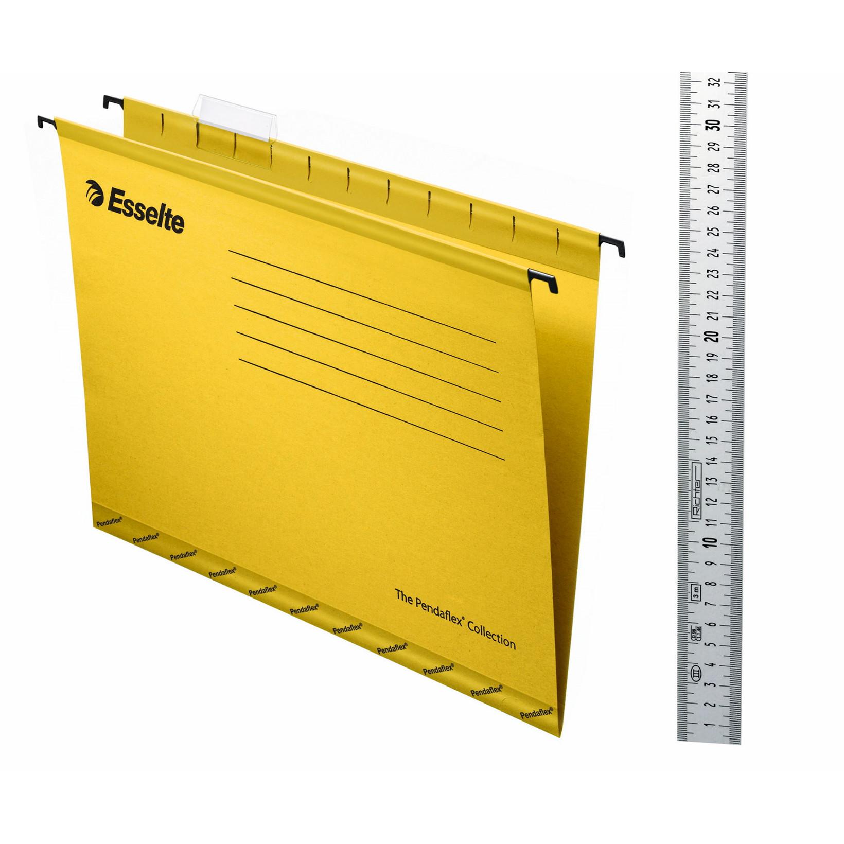 Hængemapper A4 gul - 25 stk. pr. pakke