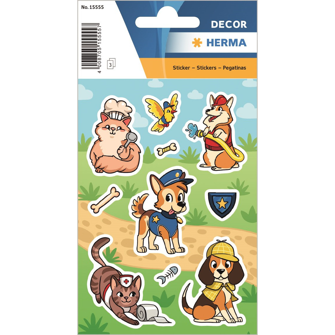 HERMA Herma stickers Decor bedste venner (3)