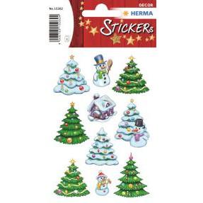 HERMA Herma stickers Decor vinter juletræer (3)