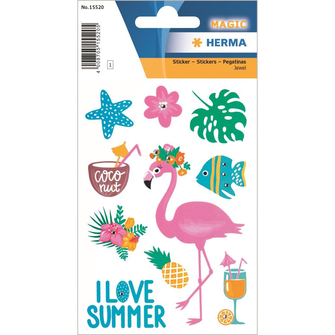 HERMA Herma stickers Magic I Love Summer (1)
