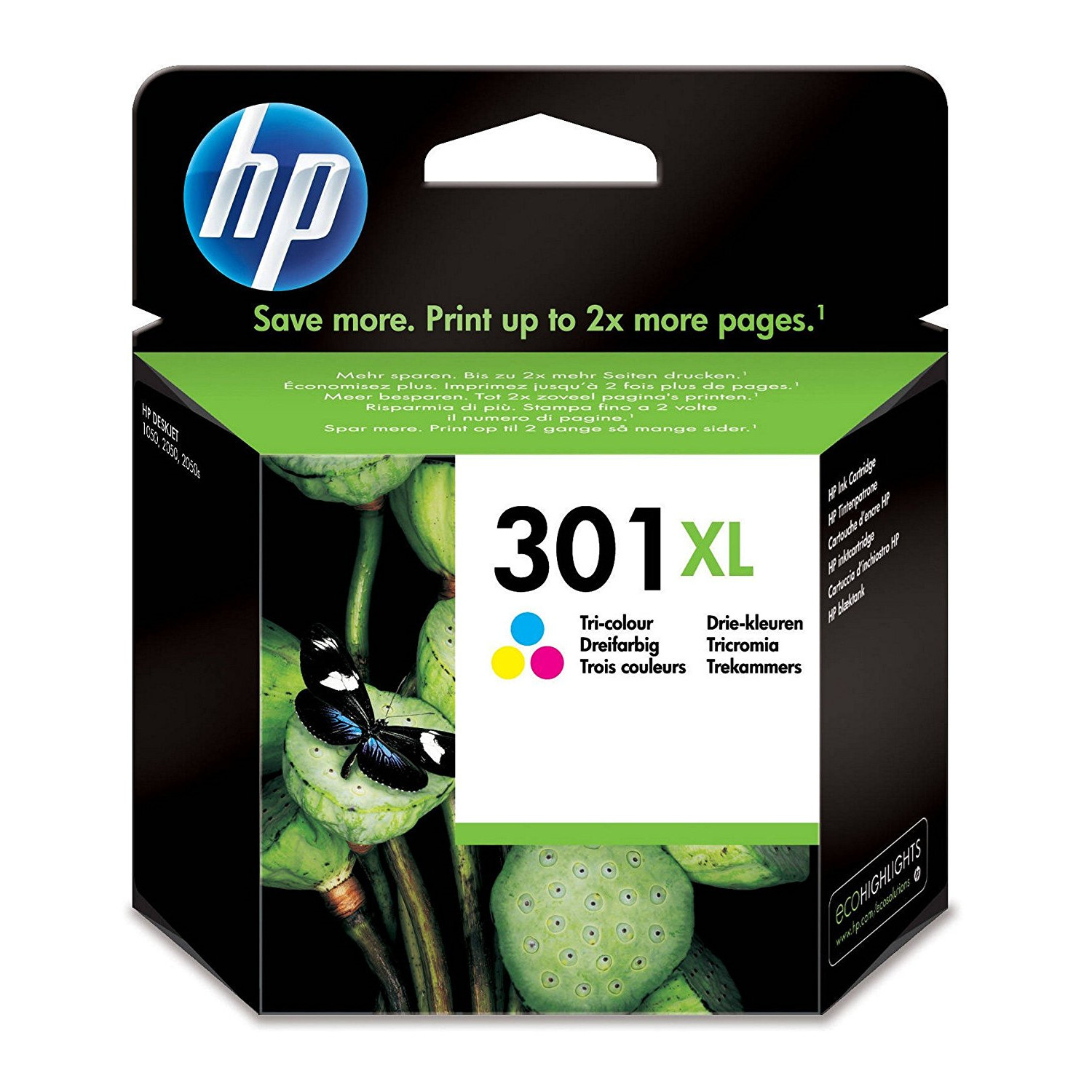 HP No301 XL color ink cartridge