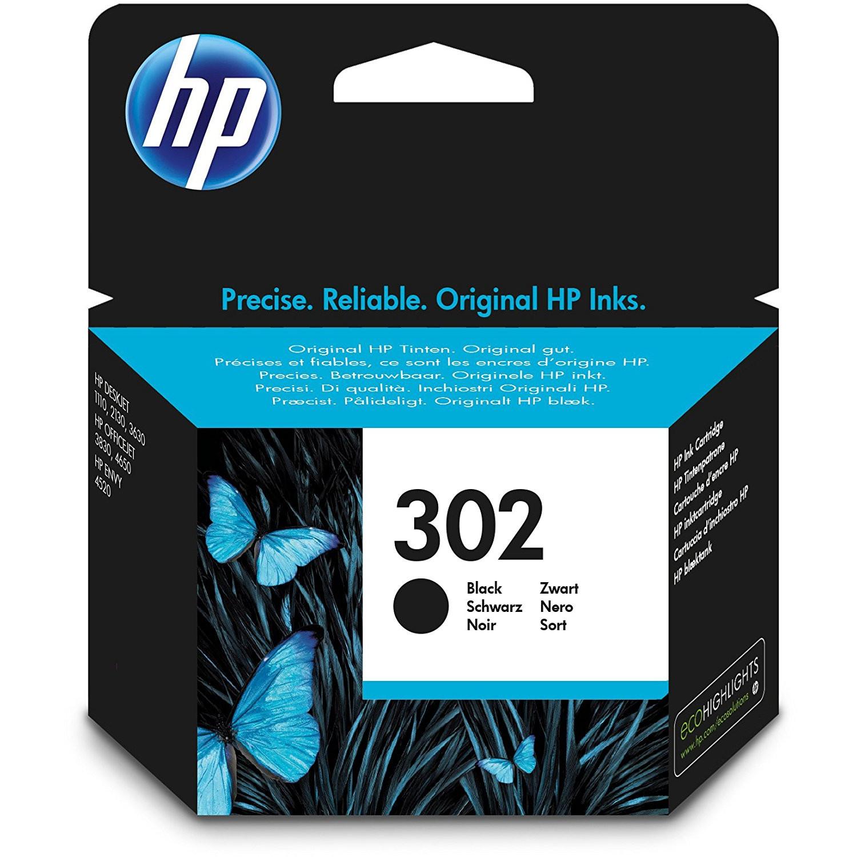 HP No302 black ink cartridge