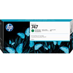 HP No747 Green Chromatic 300ml Ink Cartridge