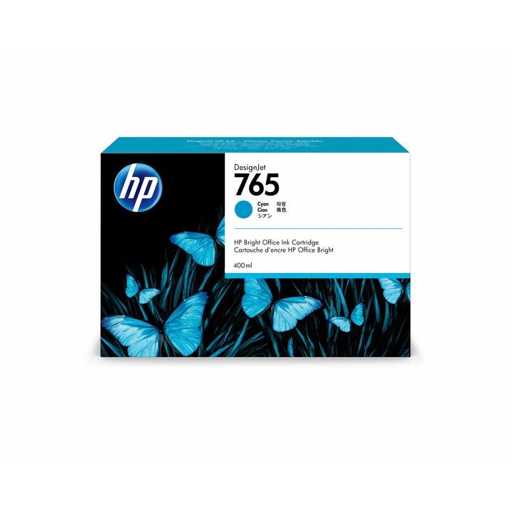 HP No765 cyan ink cartridge 400ml