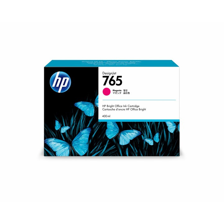 HP No765 magenta ink cartridge 400ml