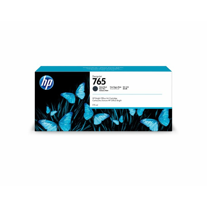 HP No765 Matte Black ink cartridge 775ml