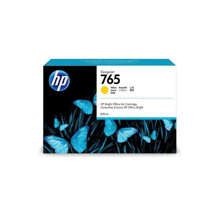HP No765 yellow ink cartridge 400ml