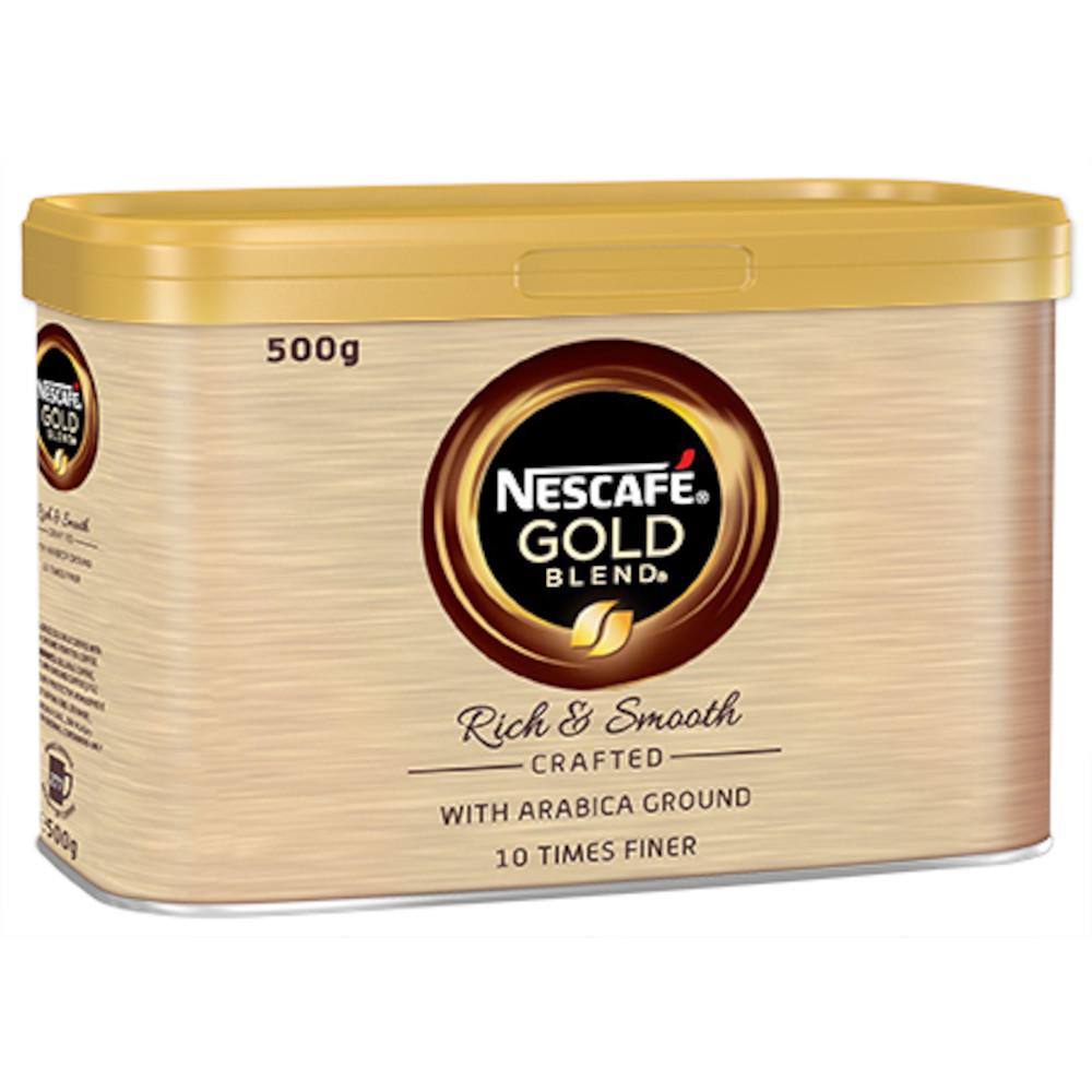 Kaffe, instant, Nescafé, Gold Blend, dåse, 500 g,