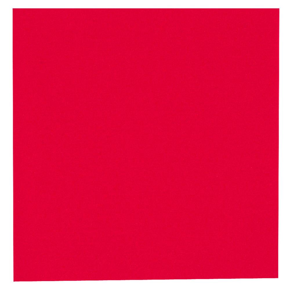 Kaffeserviet, Gastro-Line, 2-lags, 1/4 fold, rød, papir, 24cm x 24cm