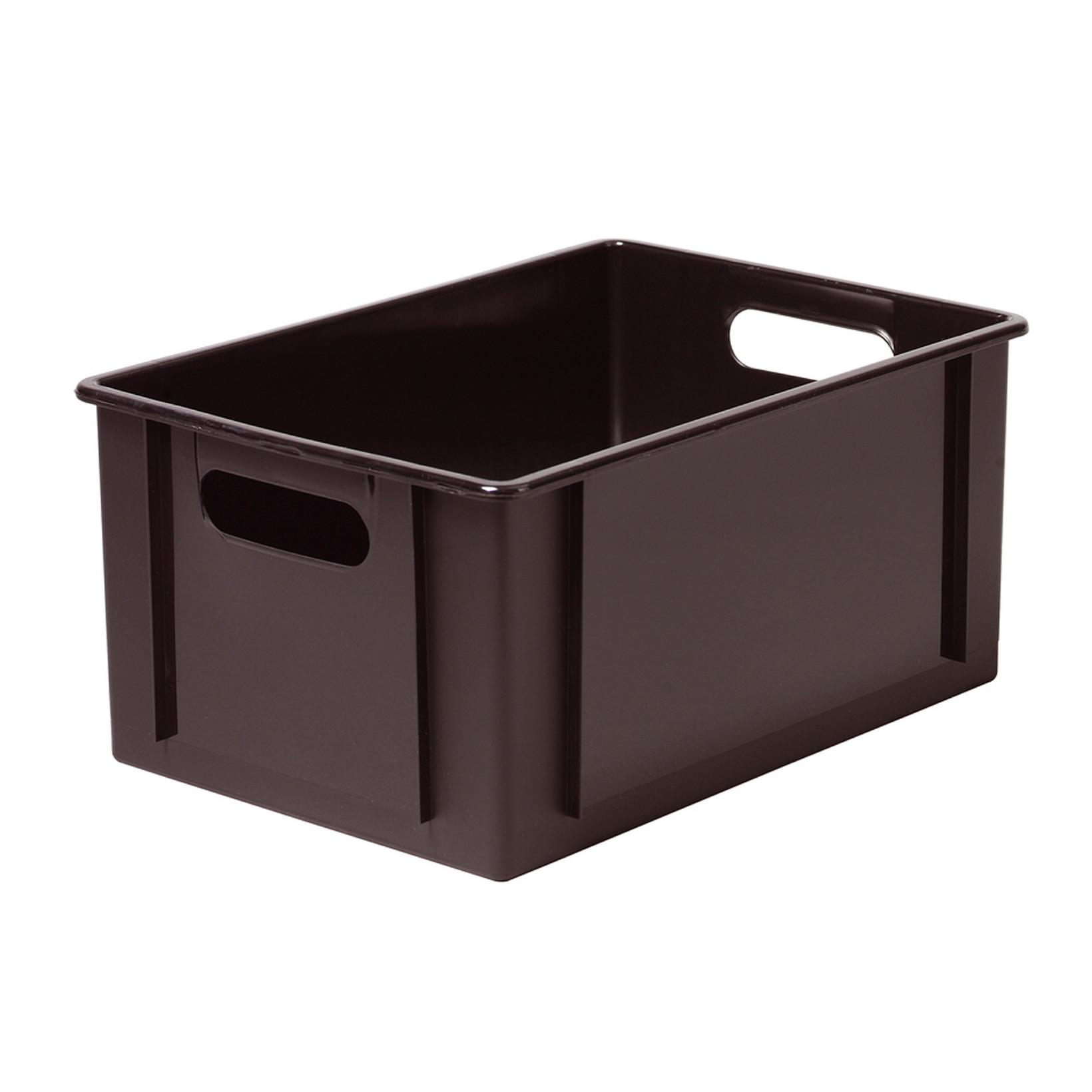 Klodskasser sort - Smart Store 12,5 liter 34 x 24 x 16 cm