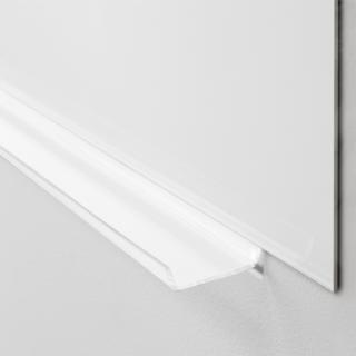 Lintex pennehylde, hvid plexiglas, 200mm