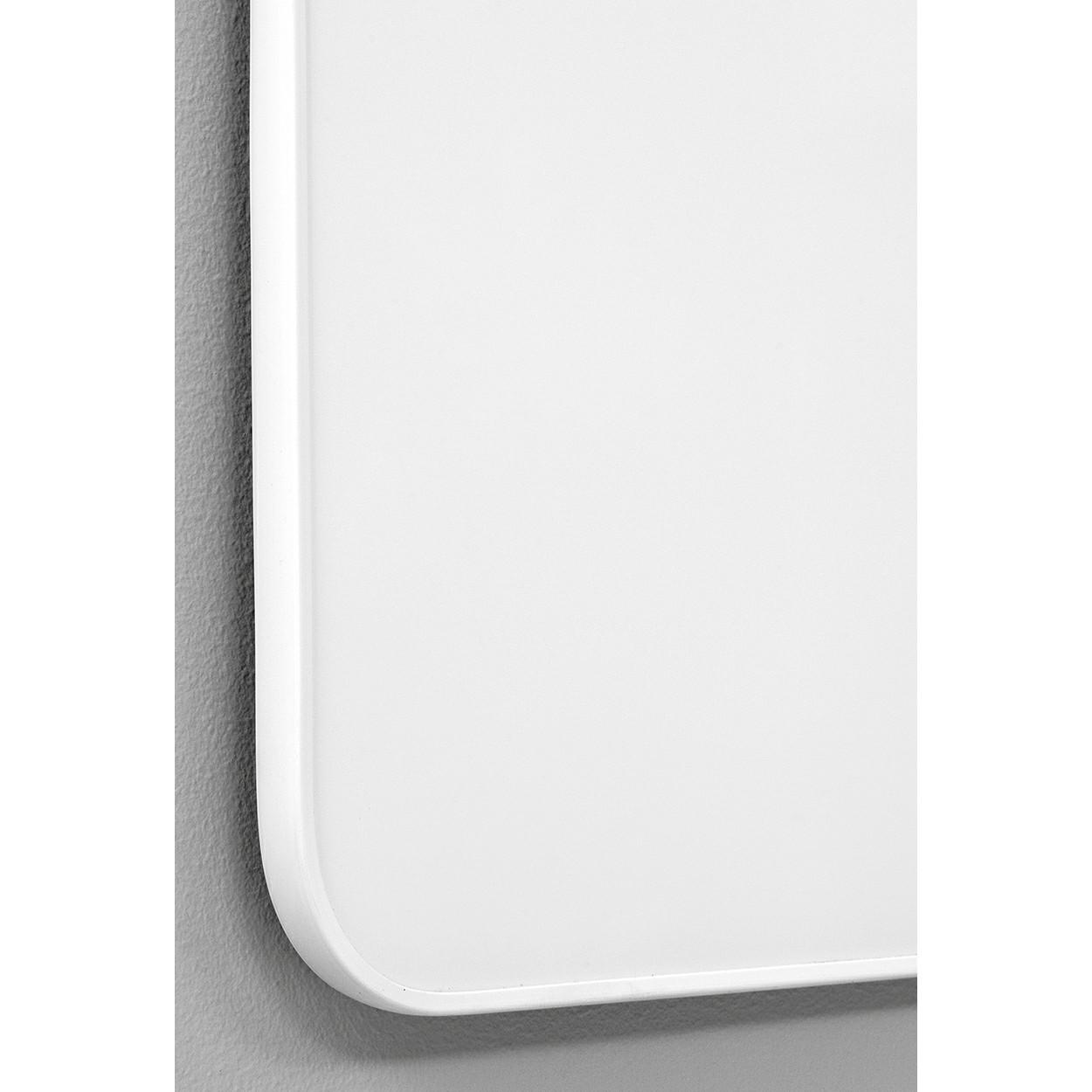 Whiteboard Lintex Edge - med hvid ramme 200 x 120 cm