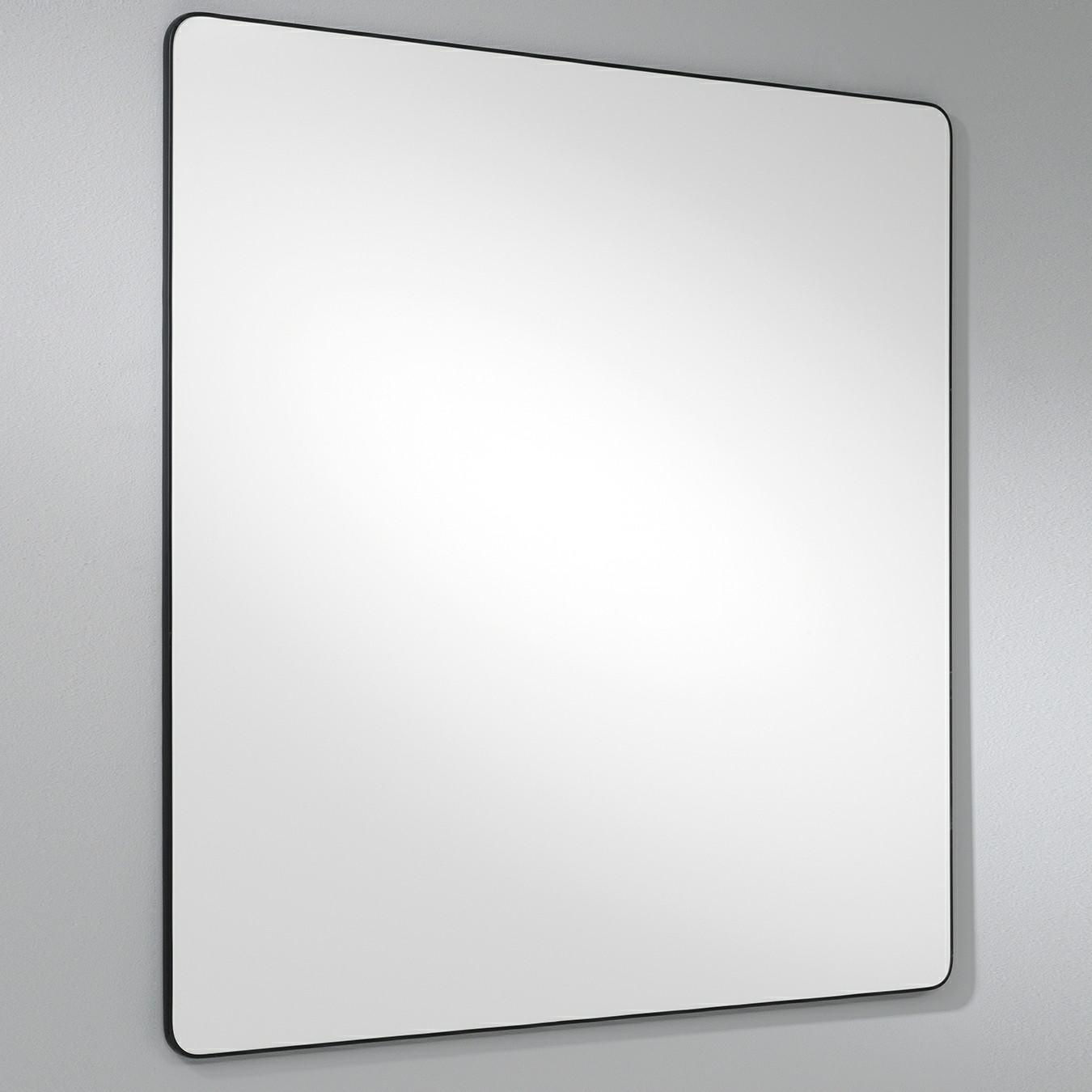 Lintex Edge - Hvid whiteboardtavle med sort kantliste 100 x 120 cm