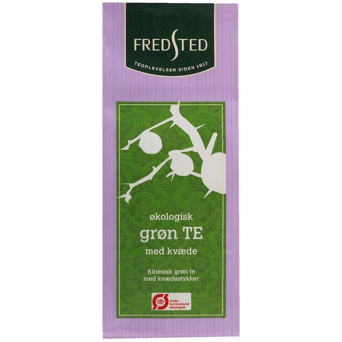 Løs te, Fredsted The, grøn, med kvæde, økologisk, 100 g,
