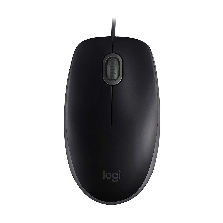 Logitech B110 Silent Mouse, Black