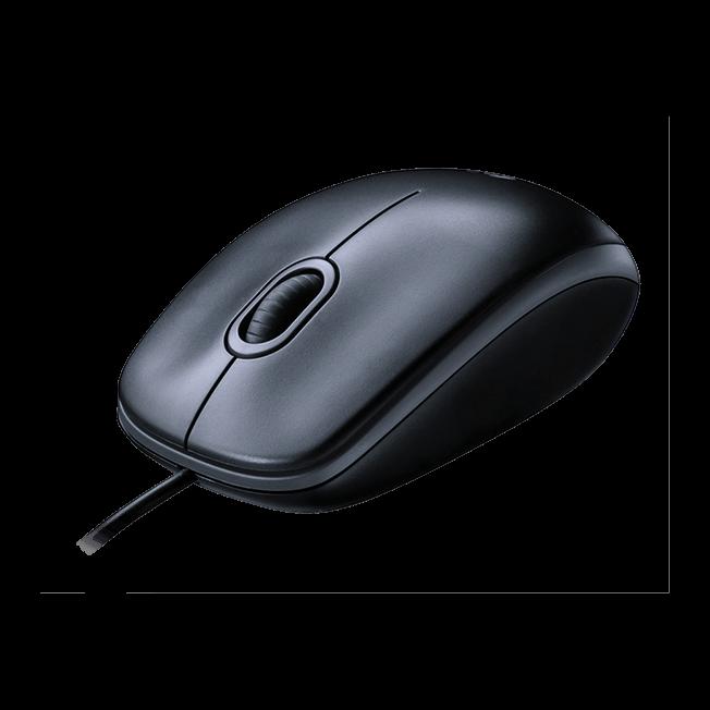 Logitech M100 - Sort optisk mus