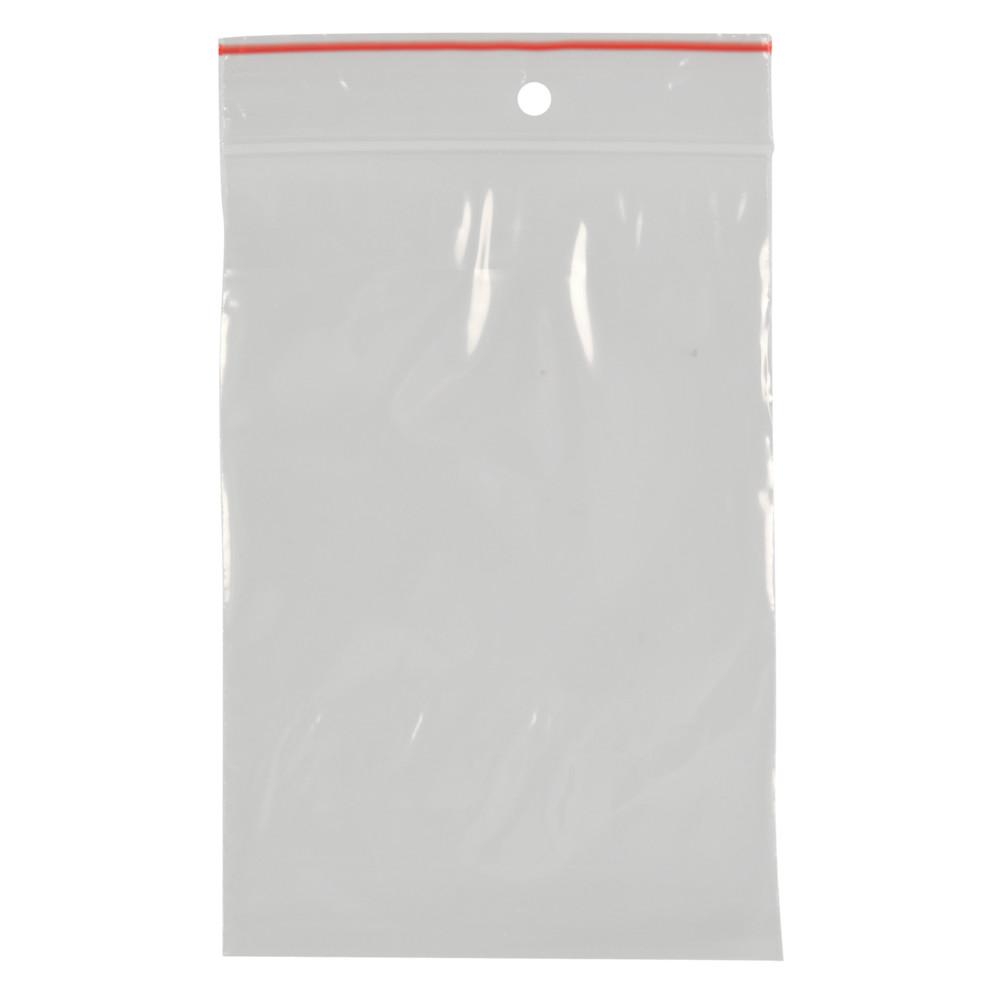 Lynlåspose, Easy-Grip, uden skrivefelt, i displayboks, LDPE, transparent, 50 my, 10x15 cm,