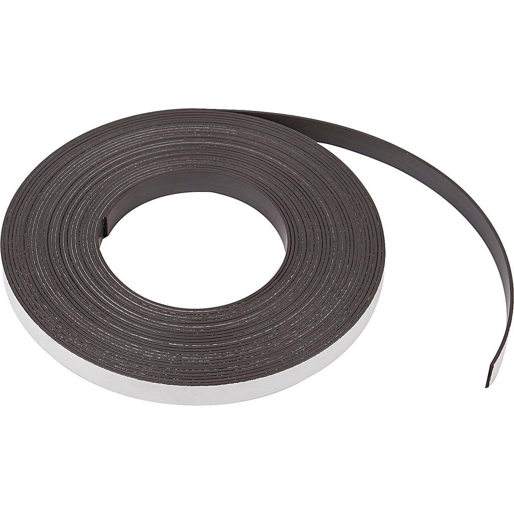Magnetbånd bredde 12,5 mm tykkelse 1,5 mm | 10 meter