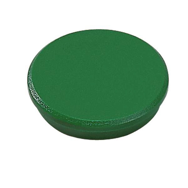 Grønne magneter runde 32 mm Dahle - 10 stk.
