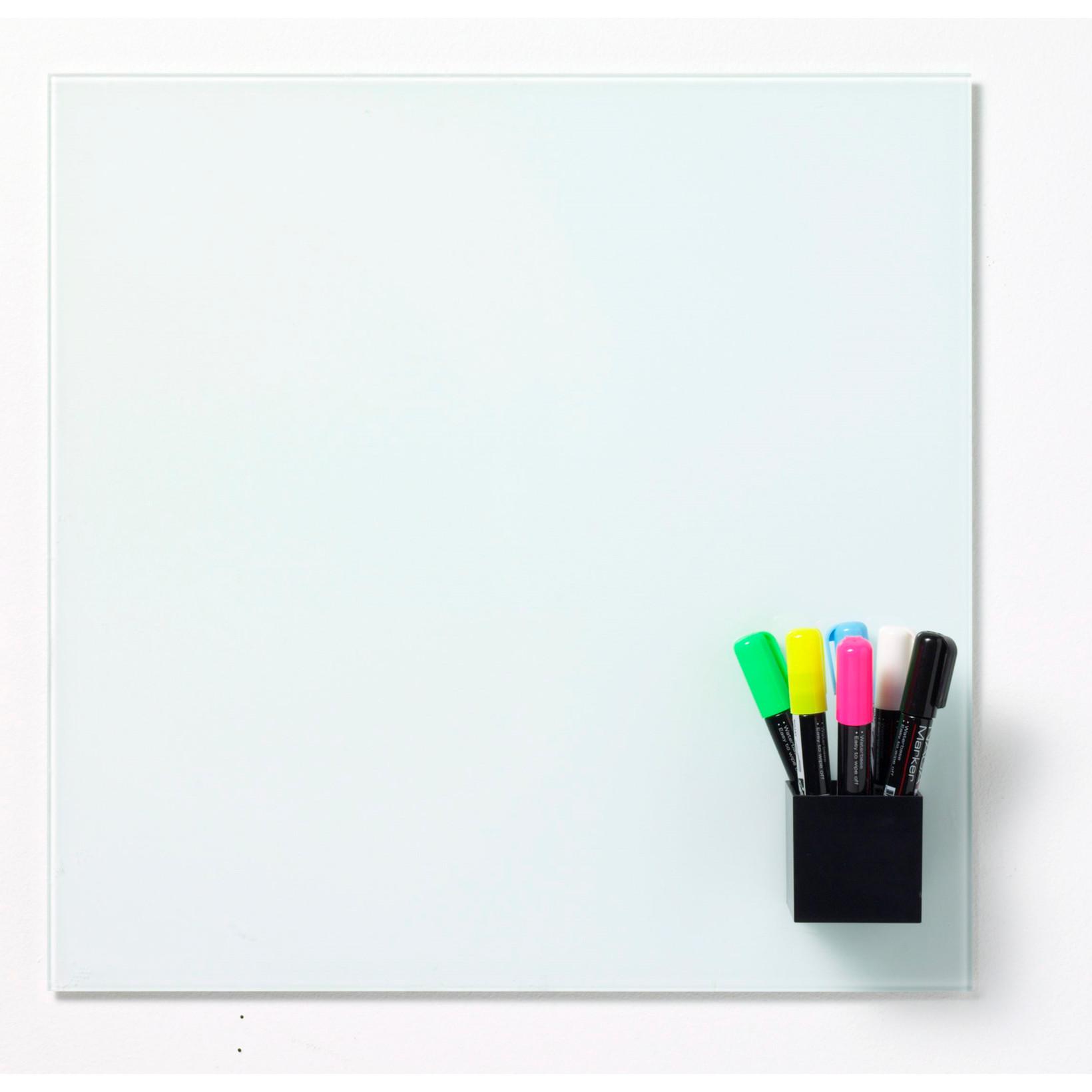 Magnetisk penneholder Naga 23951 - 6 x 6 x 4 cm sort