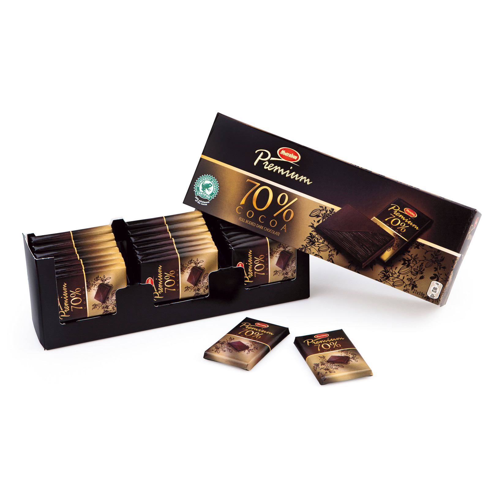 Marabou Premium gaveæske mørk - 12 æsker i en pakke