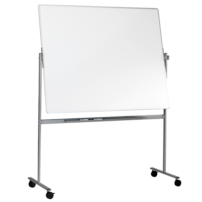 mobil svingtavle lintex dobbelsidet whiteboard p stativ 201 5 x 121 5 cm. Black Bedroom Furniture Sets. Home Design Ideas