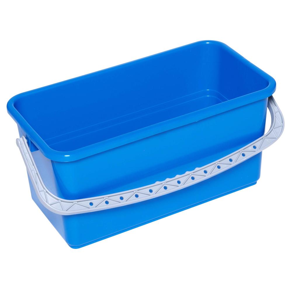Moppespand, Tina Trolleys, blå, til rist, 22 l, 27 cm,