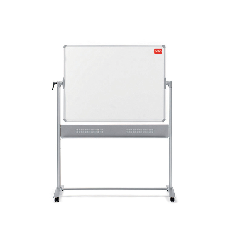 Nobo Classic Mobil Whiteboard -  Vendbar 120 x 90 cm