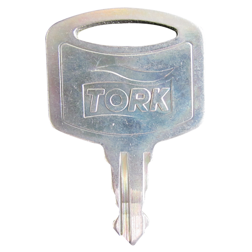 Nøgle i metal til Tork dispenser - 5 stk