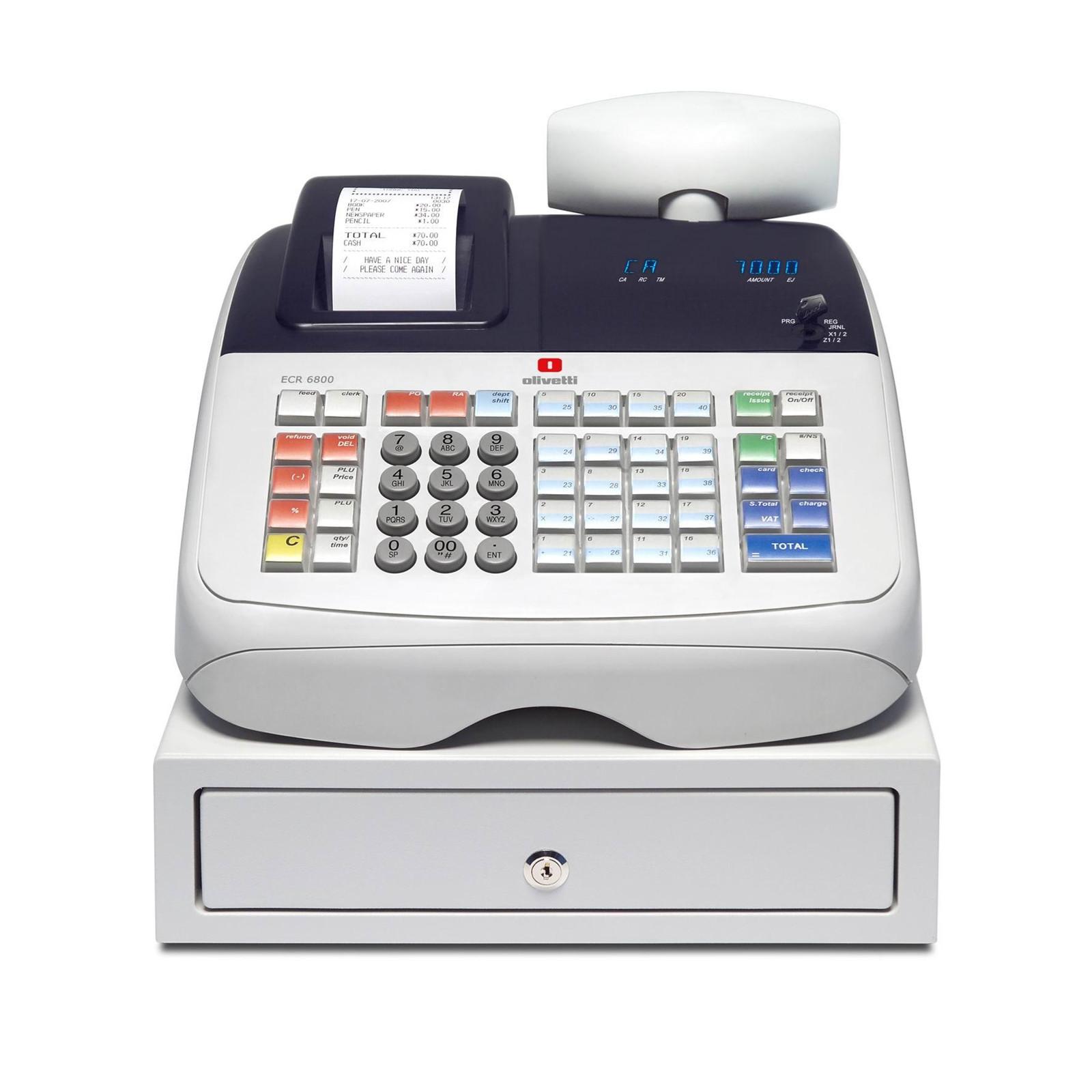 Olivetti ECR 6800 - Kasseapparat