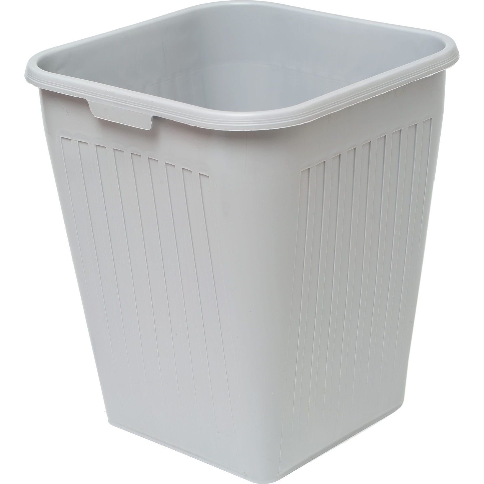 Orth Papirkurv 25 liter -  Firkantet grå plast